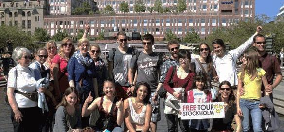 Stockholm'deki Bedava Yürüyüş Turu (http://www.stockholmfreetour.com/)