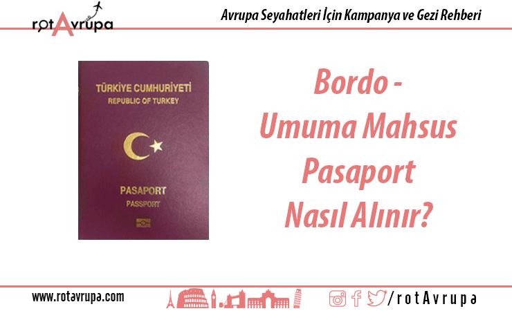 Bordo Pasaport Nasıl Alınır?