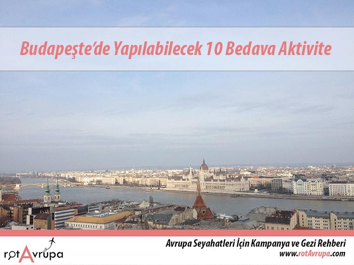 Budapeşte'de Yapılabilecek 10 Bedava Aktivite