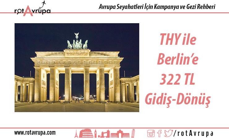 THY ile Berlin'e Ucuz Bilet