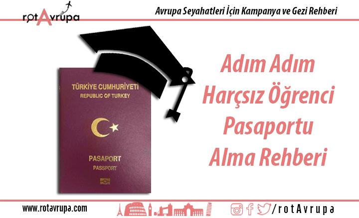 Adım Adım Harçsız Öğrenci Pasaportu