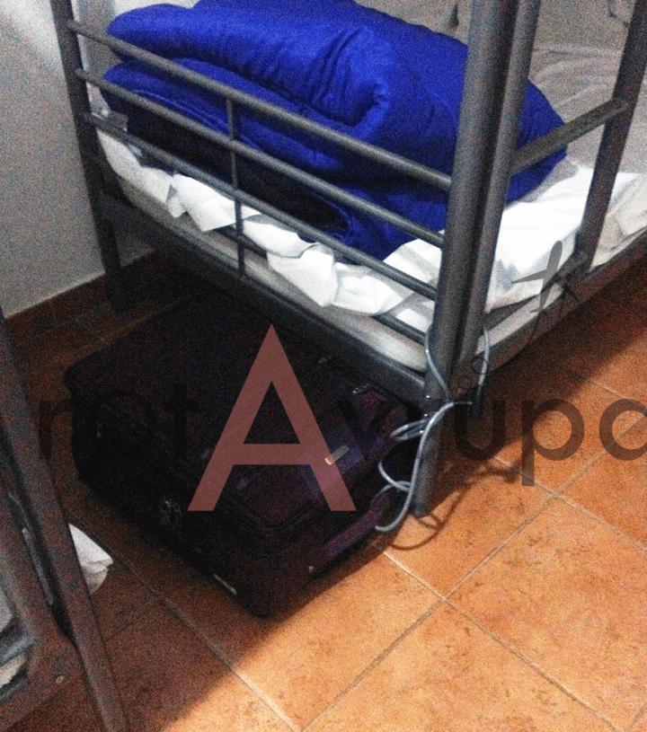 Hostelde güvenlik