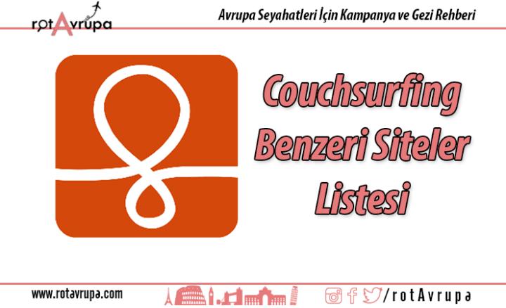 Couchsurfing Benzeri Siteler
