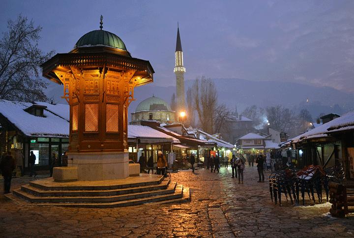 Saraybosna'ya Ucuz Uçak Bileti