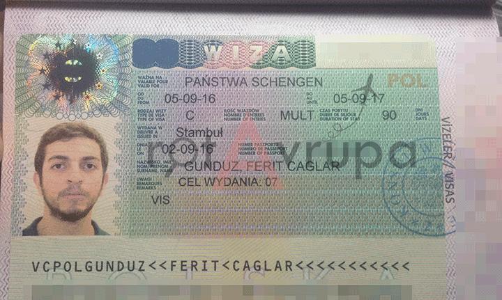 Uzun Süreli (1 yıllık) Multi Schengen Vizesi