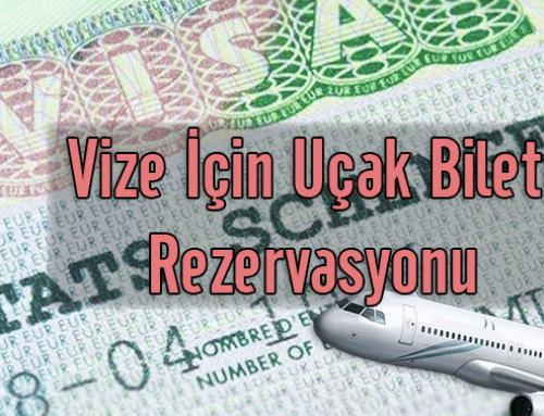 Vize İçin Uçak Bileti Rezervasyonu Nasıl Yapılır?