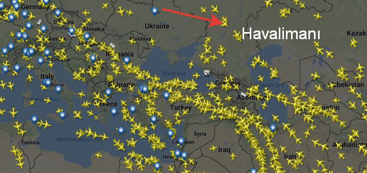 Havadaki Uçakları Takip