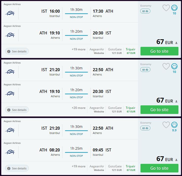 Atina ucuz uçak bileti