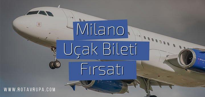 Milano'ya ucuz uçak bileti