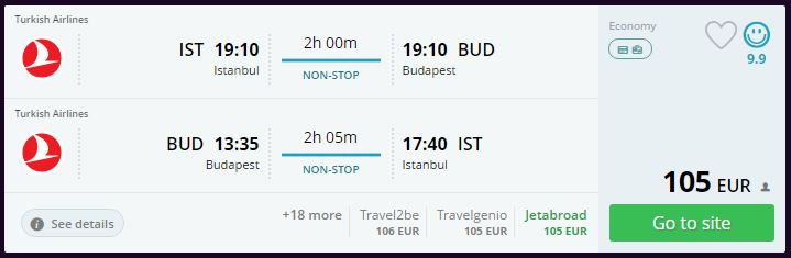 Budapeşte Ucuz Uçak Bileti